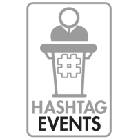 Hashtag events logo - Balloon Virtual Events